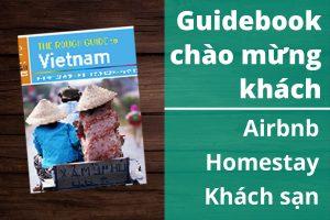 Làm guidebook, welcome book giúp khách check in out đơn giản & tăng doanh thu