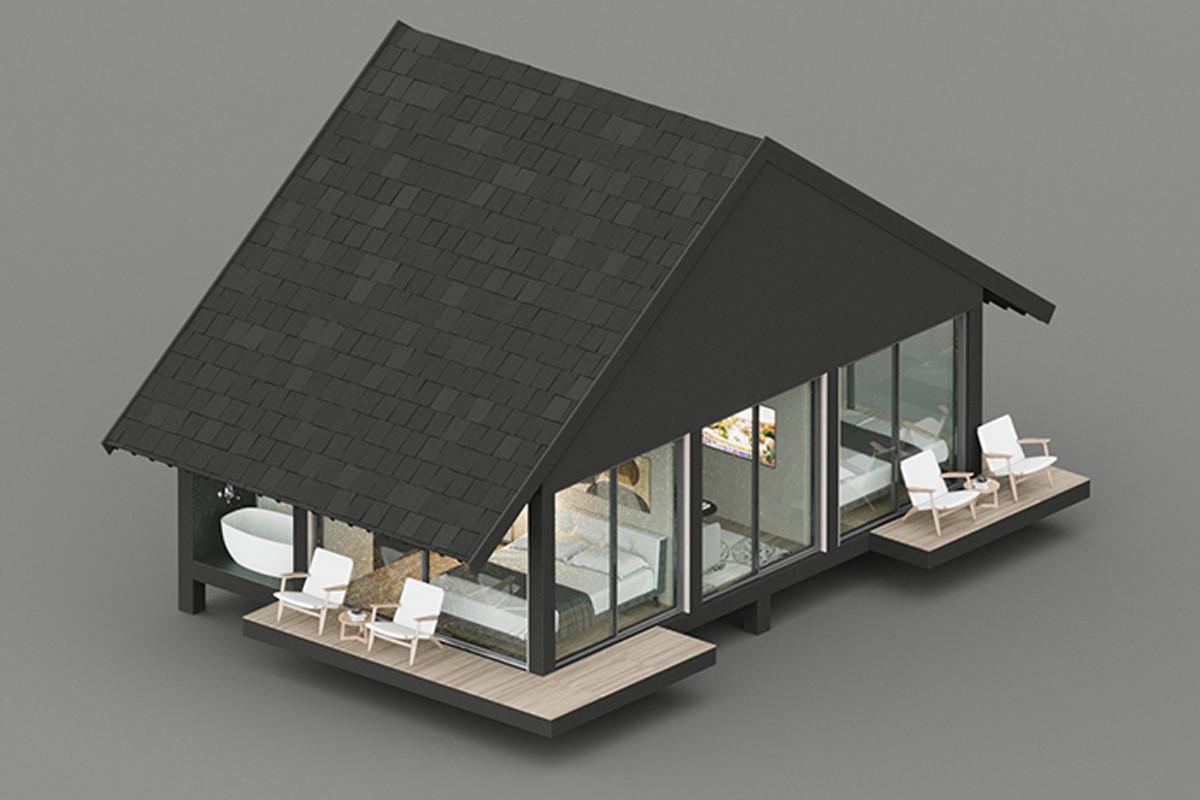 Mô hình villa nhà di động
