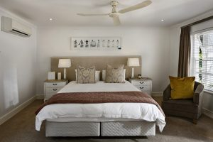 bedroom, interior design, bed
