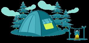 kinh doanh Glamping & cắm trại