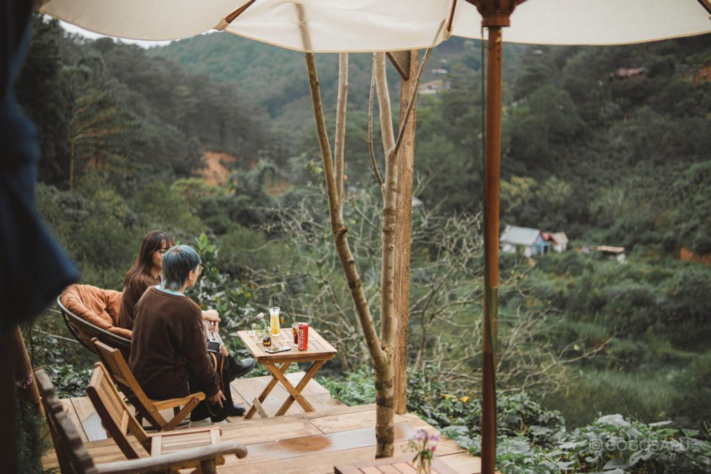 Cà phê In the Forest Đà Lạt