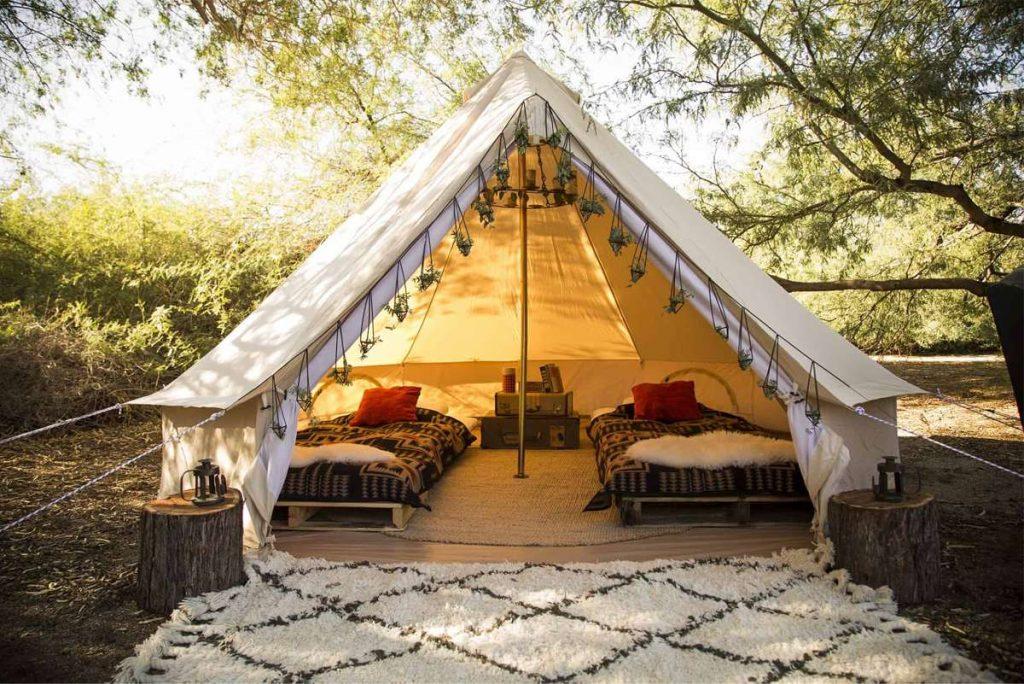 kinh doanh mô hình Glamping & cắm trại