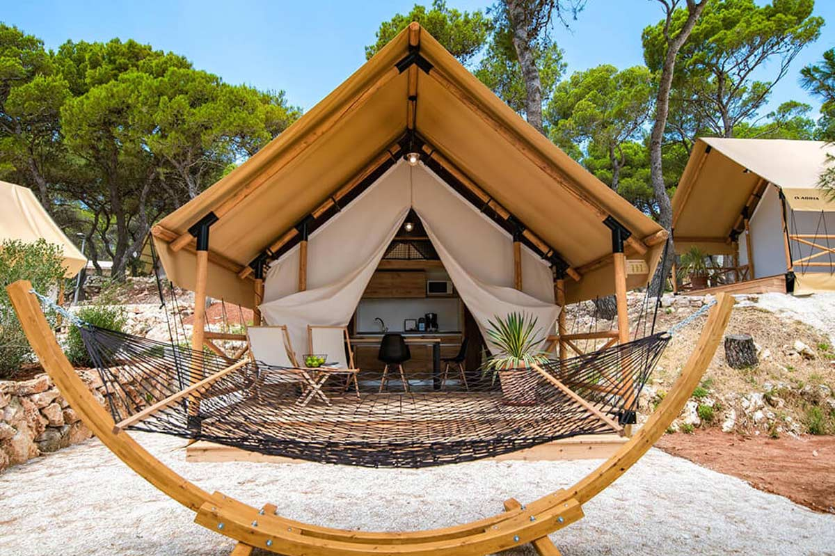 Lều safari tent