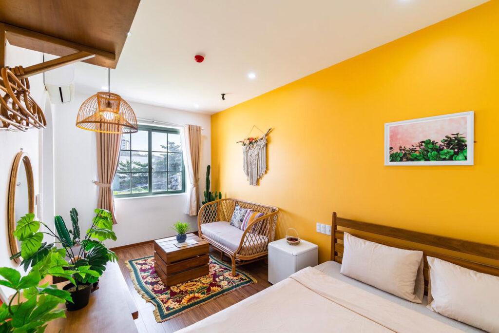 trang trí decor giúp tăng doanh thu  homestay